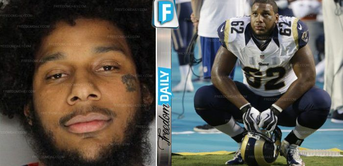 Black LA Rams Star Just ENDED His Career With Disgusting Thing He Was Caught Doing To 'Racist' Police ⋆ Freedom Daily