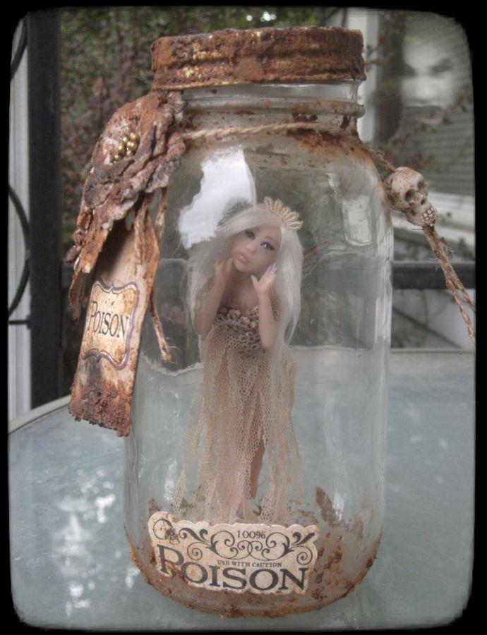 OOAK Captured Ghost Fairy