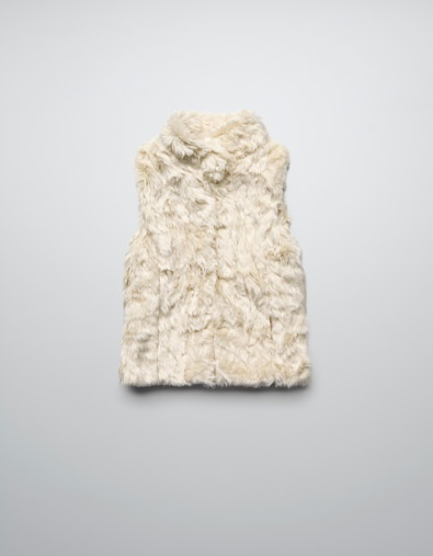 SHEEPSKIN GILET - Jackets - Girl (2-14 years) - Kids - ZARA United States