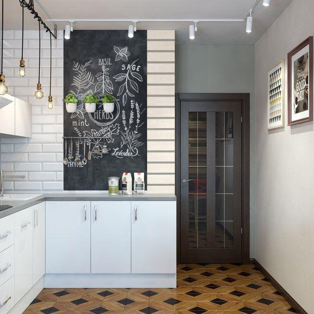 Обладателям кухни с балконом посвящается. Что разместить на дополнительной площади, где оборудовать стол и какой гарнитур выбрать – дизайнеры из «ДА-Дизайн» рассказали о своем новом проекте