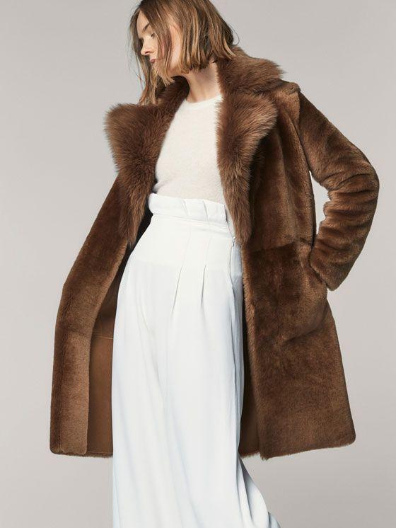 Manteaux élégants pour femme | Massimo Dutti Automne-Hiver 2017