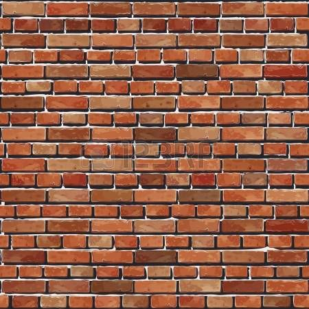 Vieux mur de briques rouge illustration de fond sans soudure texture pour l - Deco mur brique rouge ...