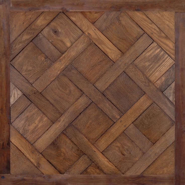 Antique French Oak Flooring: Versailles Pattern