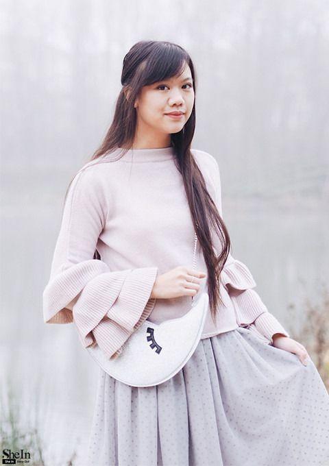 casual top - Галерея Стилей & Lookbook SheIn ru