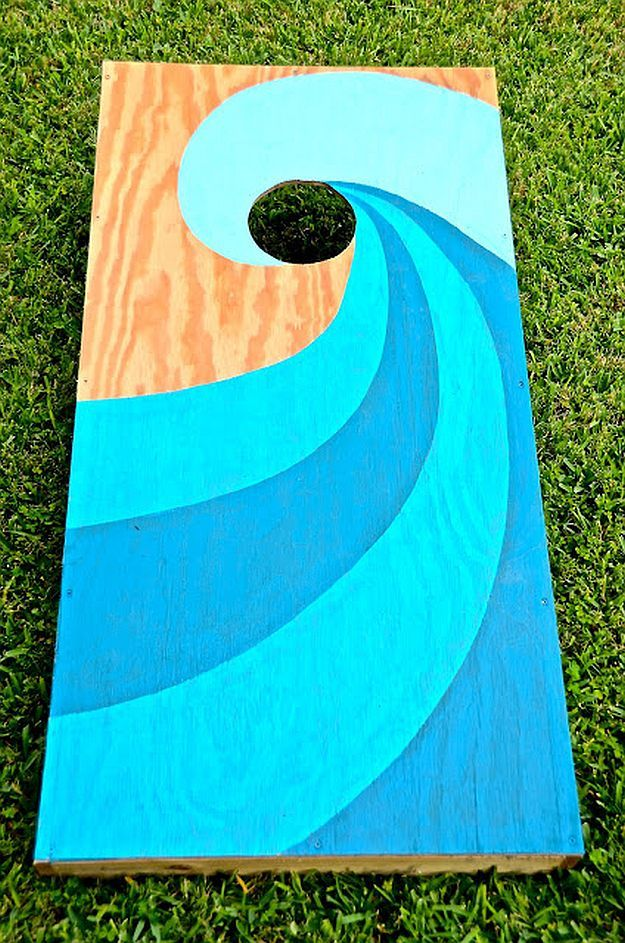 21 creative corn hole boards for your next backyard game night