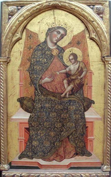 Virgin Mary and Child, 1354 - Paolo Veneziano