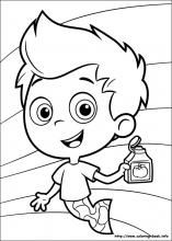 44 Bubble Guppies Printable Coloring Pages For Kids Find On Book Thousands Of