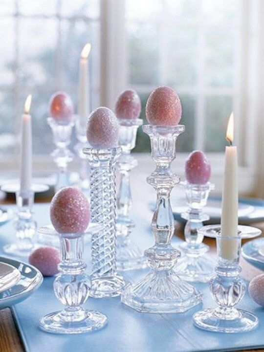 20 beautiful and creative tips for your Easter table setting