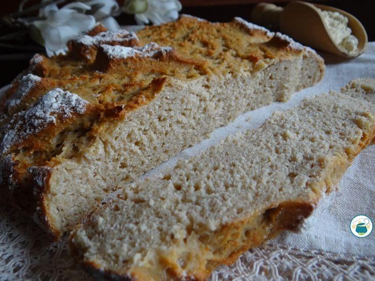 Pane con farina di ceci