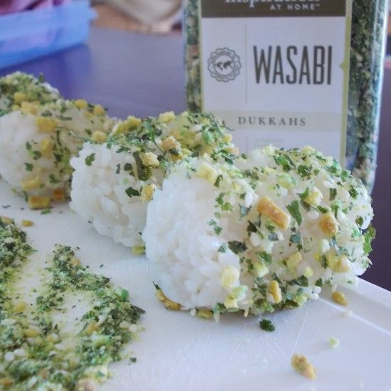 YIAH Onigiri Balls are a perfect addition to the school/work lunchbox. #YIAH #sushi