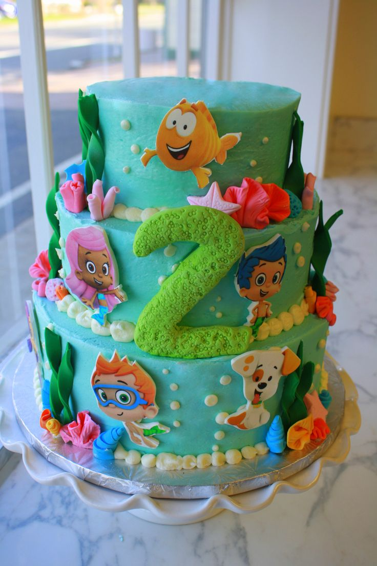 26 best bubble guppy cakes images on pinterest bubble guppies