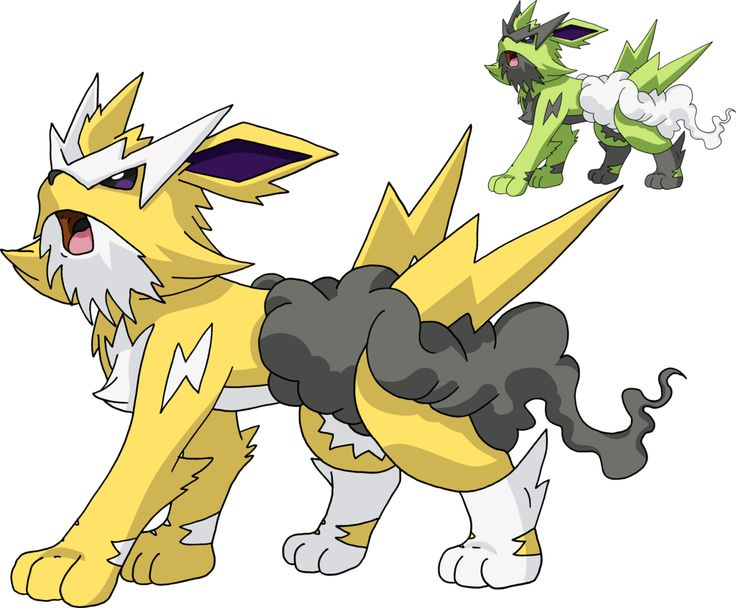 Fake - 135 - Mega Jolteon by Tails19950.deviantart.com on ...