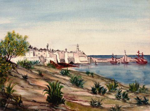 L'artiste tebbiche - amirauté d'Alger