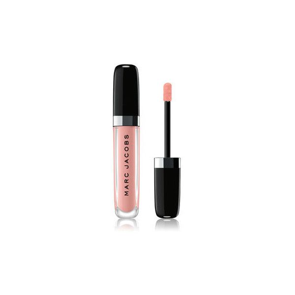 Marc Jacobs Enamored Hi-Shine Lip Lacquer ($28) ❤ liked on Polyvore featuring beauty products, makeup, lip makeup, lip gloss, lip gloss makeup, glossy lip gloss, shiny lip gloss and lip shine