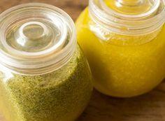 Receita Dedo de Moça: Molho de manjericão para saladas