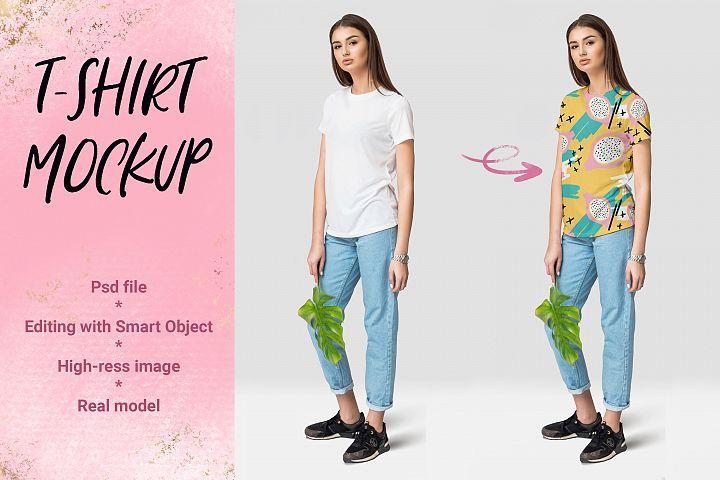 Download Female T Shirt Mockup Font Bundles Tools And Elements Mock Ups Tshirt Mockup Free Design Resources Shirt Mockup