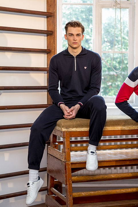John Smedley SS14 collection at LC:M  #knitwear #sportswear