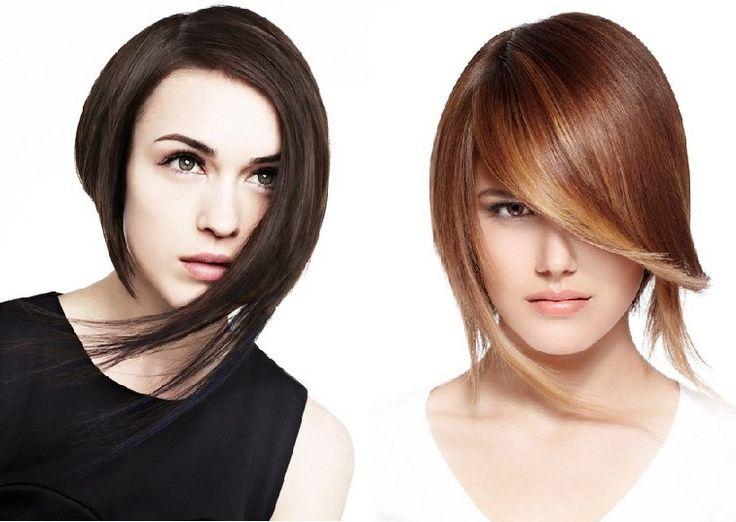 asymmetric a line haircut