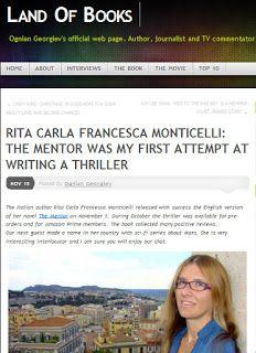 "Interview on the Land of Books about ""The Mentor"" http://dld.bz/ebsVW #crimethriller #CSI #ScotlandYard"