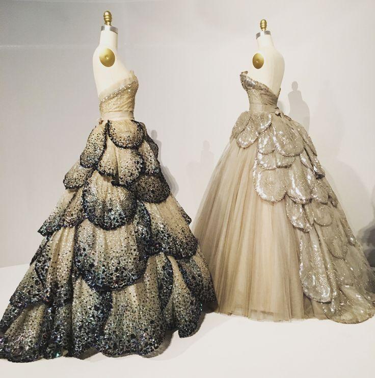 Teatro full skirt lace prom dress