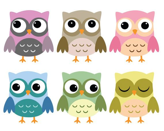 Owls Clipart Sea Clip Art Ocean Animals Clip by digitalcliparts