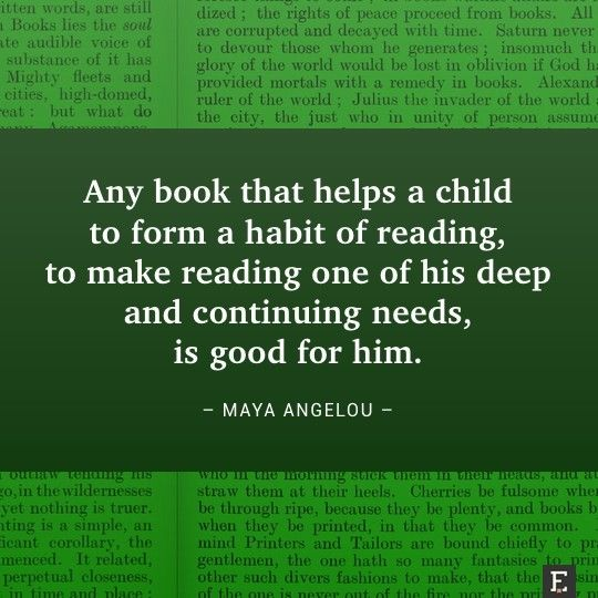 A book that helps a child to form a habit of reading #books #quote