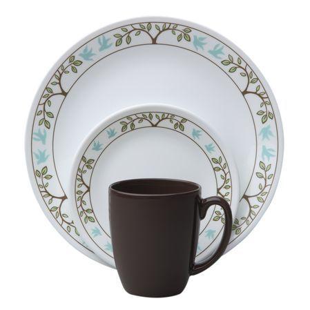 The original break and chip resistant glass dinnerware.  sc 1 st  Pinterest & 10 best Corelle Patterns I like images on Pinterest | Corelle ...
