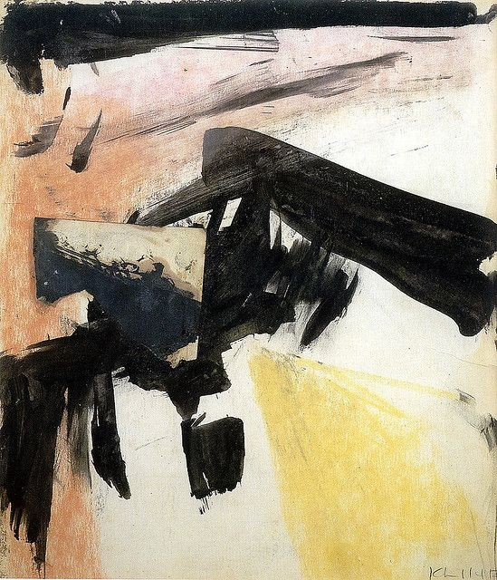 Franz Kline - Abstraction, 1955