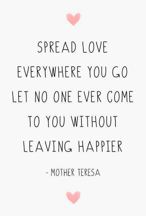 Inspirational Quote Mother Teresa Love Printable