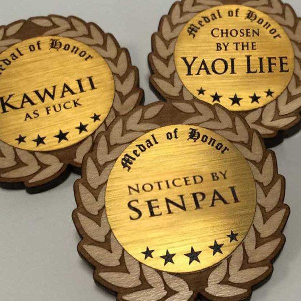 Shut Up And Take My Yen | Weeaboo MedalsWeeaboo Medals - Shut Up And Take My Yen