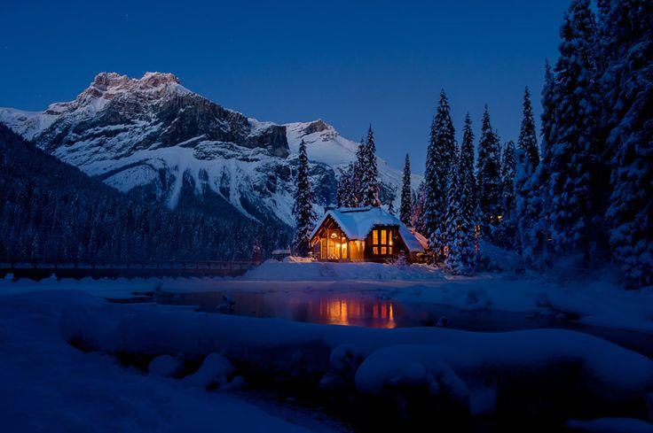 Emerald Lake Lodge in Yoho National Park. Field, Canada