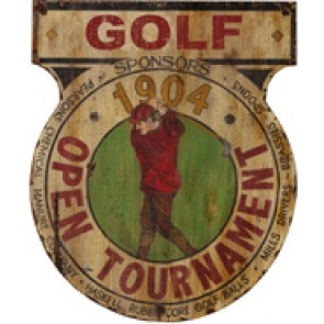 vintage golf signage - Google Search