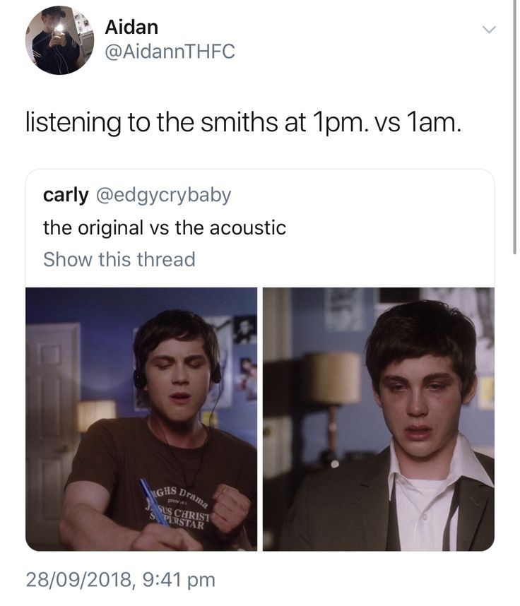 Thesmiths Morrissey Music Memes Perks Of Being A Wallflower Will Smith