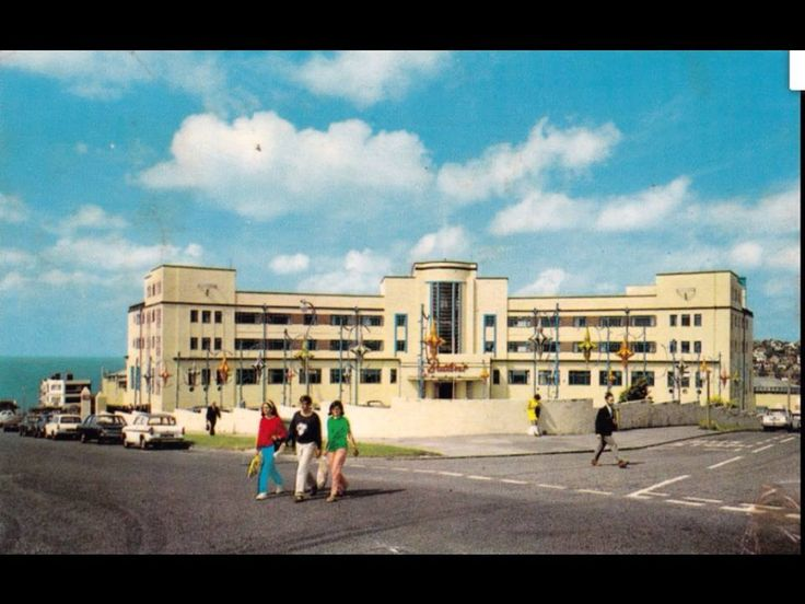 Postcard Of Butlin S Ocean Hotel Saltdean Brighton Postmarked 1970 The Has Since Been Demolished Citys I Like Pinterest Hotels And