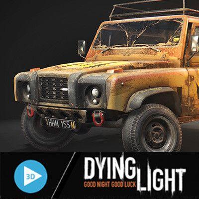 Dying Light: The Following Pretender, Karol Miklas on ArtStation at https://www.artstation.com/artwork/91RQW