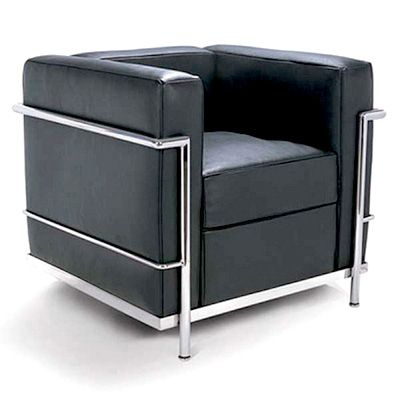 Grand Comfort Chair — Charles Edouard Jeanneret A.K.A. Le Corbusier (1928)