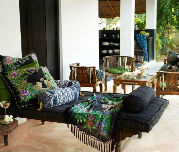 exotic style home in India