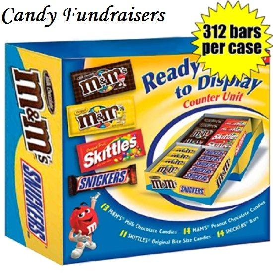 Candy Fundraisers - Best fundraising candy ideas for schools, churches, and youth sports groups.