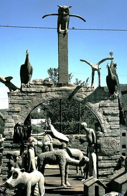 The Owl House, Nieu Bethesda, South Africa.
