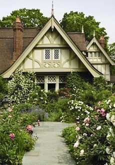 English Cottage Designs . . . Extraordinarily Enchanting Escapes!                                                                                                                                                                                 More