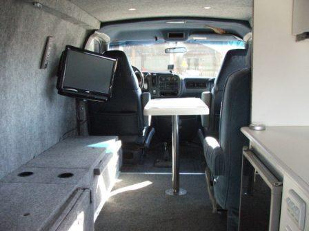 4x4 chevy express custom camper interior