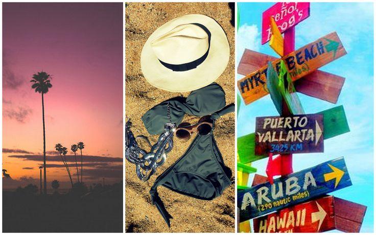 Go from beach to bar with a glam grey Scarlett Swimwear bandeau bikini