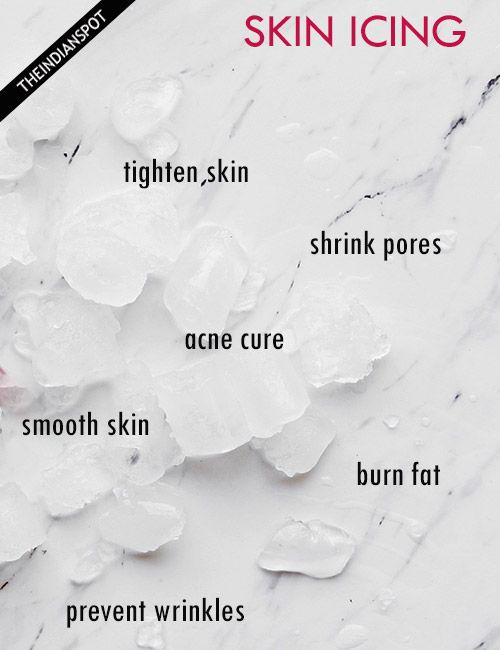 AMAZING BENEFITS OF SKIN ICING
