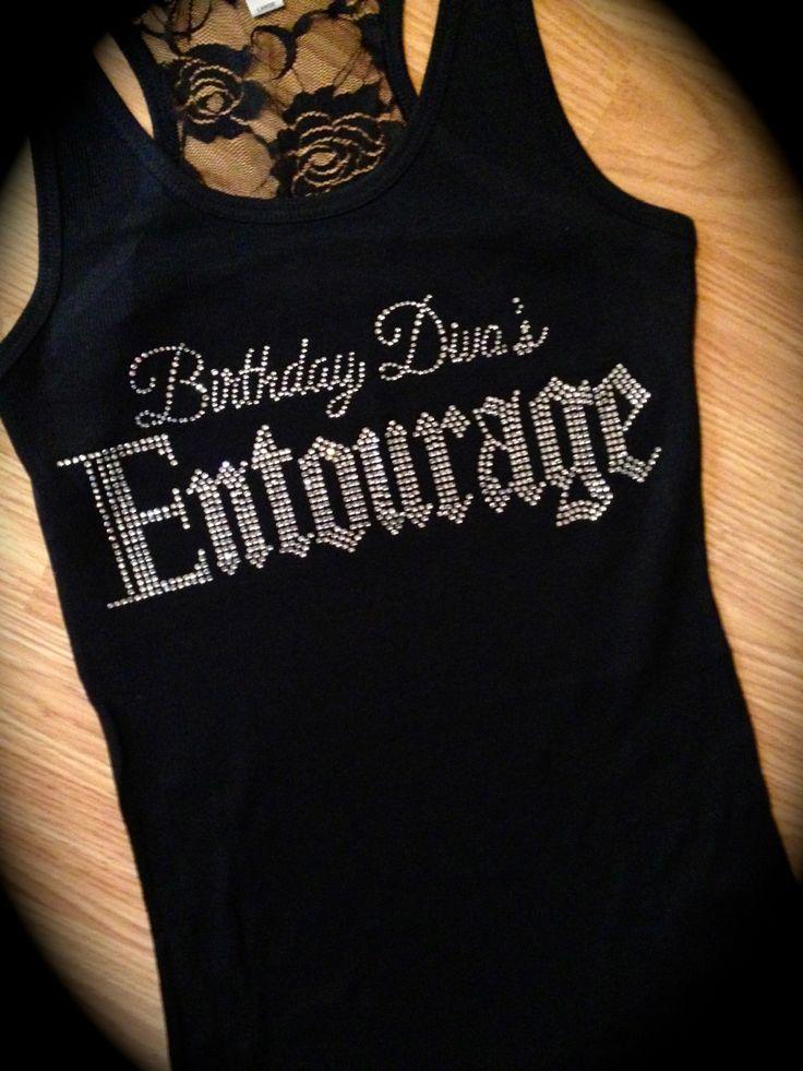 Adult Birthday Shirt. Birthday Diva's Entourage. Birthday ...