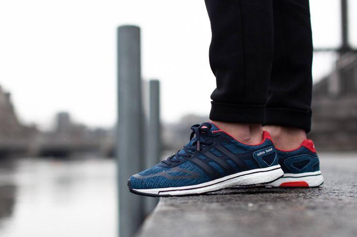 adidas adizero Boost LTD: Blue/Running White/Red