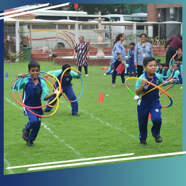#KPS celebrated #NationalSportsDay today with students participating in various sporting events like running, relay and pyramid. #KPS pays tributes to the exemplary #MajorDhyanChand, whose legendary sporting skills did wonders for Indian hockey. #school #kps #students #nationalsportsday