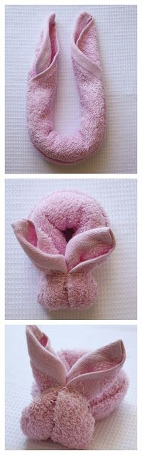 pap do coelhinho de toalha