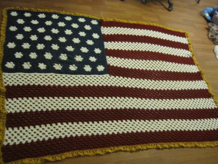 All American Crochet Afghan Pattern Free : 145 best images about Crochet American..The Red,White,Blue ...