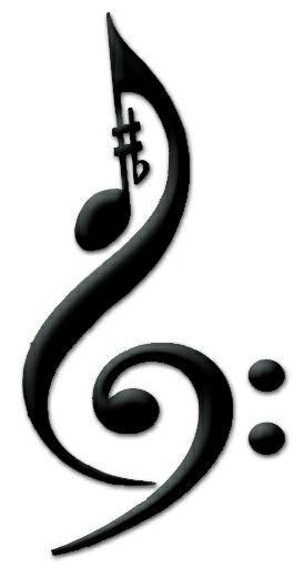 Music tattoo                                                       …