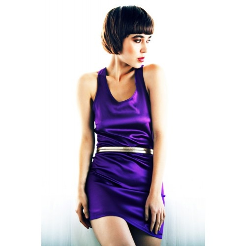 Silk heather chemise from MC Lounge AW12 collection
